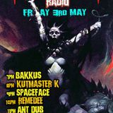 Dj Bakkus fright night radio show 3/5/19