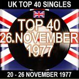 UK TOP 40 20 - 26 NOVEMBER 1977