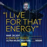 Ferry Corsten presents Gouryella Live @ Ultra Music Festival, ASOT 800 Stage, Miami 26-03-2017
