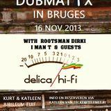 Dubmatix in Bruges Party Promo Mix
