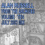 From The Archives - Volume 10 - July 2003