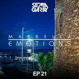 MARBELLA EMOTIONS EP.021 mixed by Sema Garay (DEEP HOUSE)