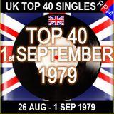 UK TOP 40 26 AUGUST - 01 SEPTEMBER 1979