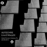 Autechre - Live at Warp25, Hotel Forum/Kraków,PL (20/09/14)