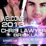 Chris Lawyer - Live @ Club Aréna Pásztó 2013.01.12.