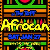 Chris NG live - Afrocan @ The Toff 17th Feb 18