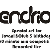 Endrio - for Jovani @ Club 5 Year Birthday mix competition