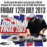 DMC UK DJ Final 2013 Promo mix by UK Finalist Mighty Atom