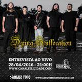 DYING SUFFOCATION: Confira a entrevista para o programa Roadie Metal