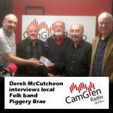 Derek McCutcheon interviews local Folk band Piggery Brae, 13 Jun 2017