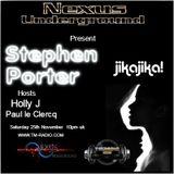 Stephen Porter Guest Mix Nexus Underground November 2017