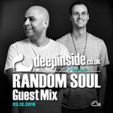 RANDOM SOUL is on DEEPINSIDE #02