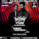 Kueymo & Sushiboy KFM Podcast Ep 78 ft Yellow Claw Album Promo: Los Amsterdam w/ exclusive interview