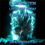 DJ DISTRUKTION JUMP UP D N B LIVE DARKSYDE FM 28 8 15