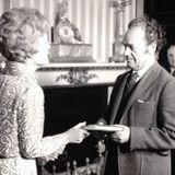 Nicanor Parra en la Biblioteca del Congreso, Washington D.C. 14 de Abril de 1970. USA