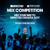 Defected x Point Blank Mix Competition 2017: Under Pressure | Live Percussion