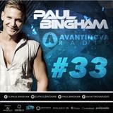 Paul Bingham - AVANTINOVA RADIO #33 - Massive tunes this Week!