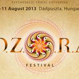 dj zen live set Ozora 2013