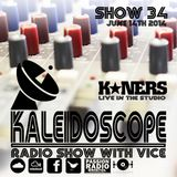 The Kaleidoscope Radio Show #34 | 14th June 2014 | K*Ners Live | Hosted by Vice | Passion Radio|