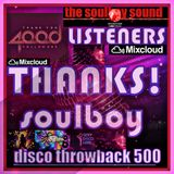 4000 listeners THANKS!! disco throwback 500 part10-with very hot&rare disco