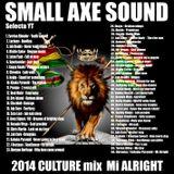 "SMALL AXE SOUND INT ( Selecta YT ) 2014 CULTURE mix "" MI ALRIGHT """