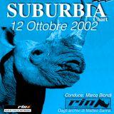 SUBURBIA CHART EDIZIONE DEL 12 Ottobre 2002 - RIN RADIO ITALIA NETWORK