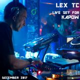 LEX TC live set for KAPOW  Dec 2017