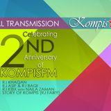 Kompis FM - 2nd Anniversary special show - RJ Baqi and RJ Asif