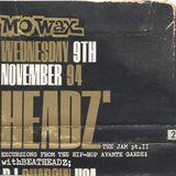 Pt#1 Dj Shadow & Dj Krush at Sankeys Soap Manchester Mo'Wax Headz Tour 9-Nov-1994