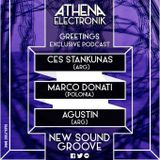 Marco Donati @ Athena Electronik Podcast 'POLONIA' -84- (Live on the Athena Electronik) 08.04.2015r.