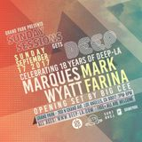 Mark Farina @ Sunday Sessions Gets DEEP 18 Year Anny- Grand Park, LA- 9.17.2017