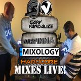 Spinna N Vandalize Mixology LIVE Hardcore Mix