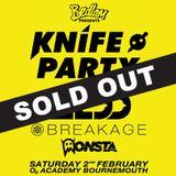 Bedlam Night - 02 - Knife Party (Pendulum, Seizure Music) @ O2 Academy - Bournemouth (02.02.2013)