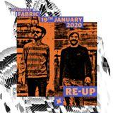 Re-UP Sundays at fabric x Where We Met Promo Mix