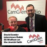 David Semler interviews Rabbi Eli Wolfson of Newton Mearns Synagogue, 5 May 2017
