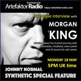 AR062 THE JOHNNY NORMAL SYNTHETIC SPECIAL MORGAN KING INTERVIEW FEATURE