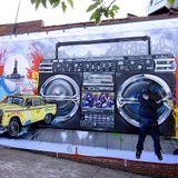 Action Bronson live @ Hip hop Kemp 2014