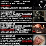 2016 08 02 20-21h (gmt+1) Physical Techno Recordings Resident Radio Show w/TIM FRANK