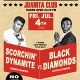 Rocksteady Sound Clash: The Scorchin' Dynamite Sound vs Black Diamonds (04-07-2014 @ Juanita Club)