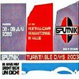Sputnik Turntable Days 09.06.2003 - Ironbase & Djane Bux