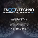 Brainwave E. #013 on Fnoob Techno Radio by Cristian Myt 10-8