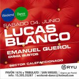 Live Warm Up - Ryu 4 de Junio 2011 - Emanuel Querol, Lucas Blanco & Emma Bustos