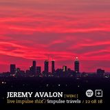 JEREMY AVALON live impulse mix. 22 august 2018 | whcr 90.3fm | traklife.com