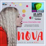 Nova radio show #011 (Hip Hop)