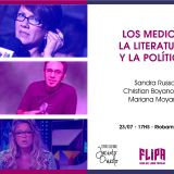 Medios, literatura y política con Sandra Russo, Christian Boyanovsky y Mariana Moyano en la #FLIPA