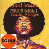 Solar Radio.com Soul Vault 21/3/18 broadcast Midnight to 2am Wednesday with Dug Chant on Sky 0129