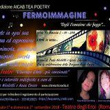 Fermoimmagine - la scrittrice Paola Nicoletti con Anna Crecco 7/07/18