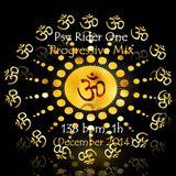 Psy Rider One (Sjors van Engeland) - Progressive Mix  138 BPM  1h (December 2014)