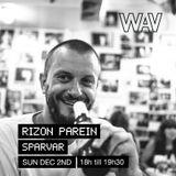 Rizon Parein pres. Sparvar at We Are Various | 02-12-18