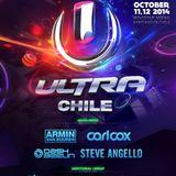 Afrojack @ Ultra Music Festival Chile 2014-10-11